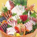 料理メニュー写真大漁盛り (十二種盛り)