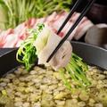 料理メニュー写真≪鹿児島天恵美豚を使用≫ みぞれつゆしゃぶ