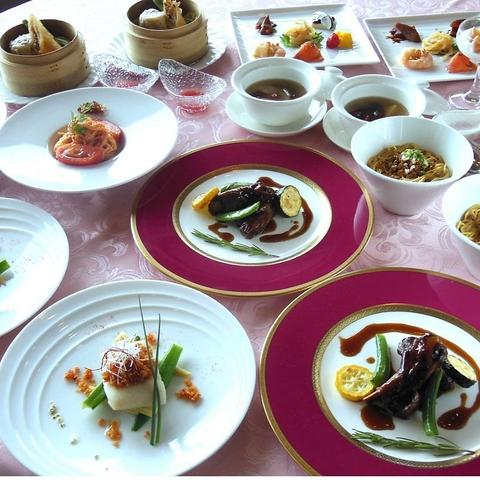華味三昧!葉山の海を背景に中国三大料理と薬膳料理をお楽しみ下さい。