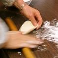 当店一番人気の小龍包は毎日、皮から手作りしております。