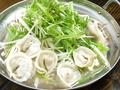 料理メニュー写真マンドゥチゲ(韓国の餃子鍋)