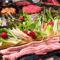 新鮮野菜×上質なお肉