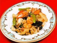 エビ・イカ・鶏のうま煮