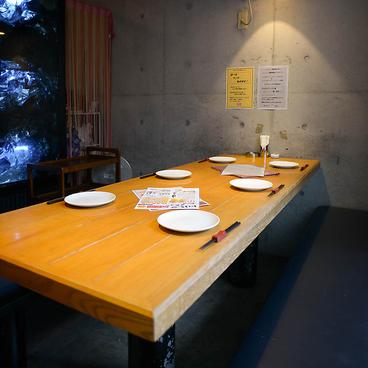鉄板居酒屋&広島お好み焼き 赤いへるめっとの雰囲気1