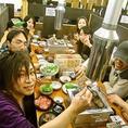 「かんぱ~い!」活気溢れる店内で自慢の焼肉を☆※写真は系列店です