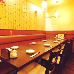 大人数におすすめの広いテーブル席!歓送迎会、各種ご宴会に。