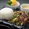料理メニュー写真焼肉ランチ(スープ、サラダバー、ライス付)