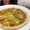 料理メニュー写真マルゲリータ(トマトとモッツァレラ)