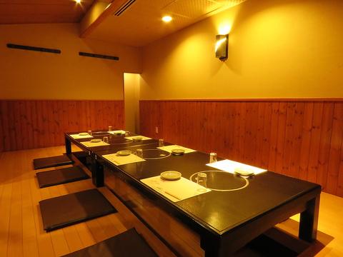 個室2名~最大138名迄のゆったり個室あり!宴会や同窓会、会合など様々なシーンに◎