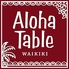 アロハテーブル ALOHA TABLE 飯田橋のロゴ