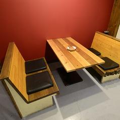 ゆっくりテーブル席