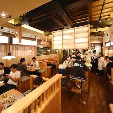 天ぷら酒場 KITSUNE 塩釜口店の雰囲気1