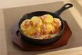 料理メニュー写真ドリアオムライスポテトとベーコン