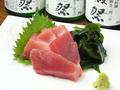 料理メニュー写真三崎マグロの刺し身