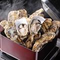 料理メニュー写真牡蠣のカンカン焼き食べ放題
