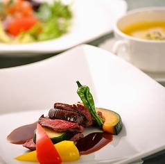 レストラン フローラ ホテルセントノーム京都のコース写真