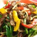 料理メニュー写真牛ハラミの贅沢青椒肉絲(チンジャオロースー)