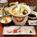 料理メニュー写真湯豆腐弁当