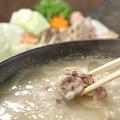 料理メニュー写真『松六家 名物 地鶏の水炊き鍋』