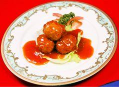肉団子の甘酢かけ(並皿/小皿)