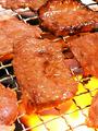 料理メニュー写真国産牛カルビ(塩・タレ)