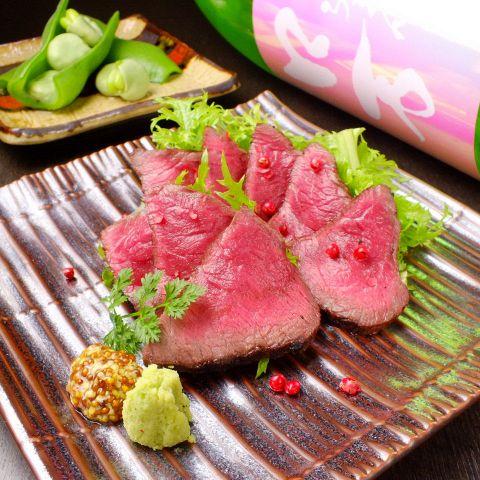 【和食宴会・接待・会食】 旬魚、赤城和牛の土鍋ご飯  贅沢コース 料理全9品