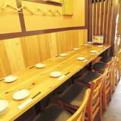 テーブル席は最大、12名様まで利用可能です☆各種、宴会でご利用下さい♪