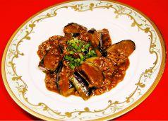 茄子の中華味噌炒め(並皿/小皿)