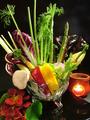 料理メニュー写真久保田農園直送 季節野菜のバーニャカウダー