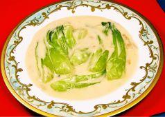 チンゲン菜のクリーム煮(並皿/小皿)