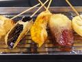 料理メニュー写真野菜串揚げ 5本盛り