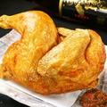 料理メニュー写真名物 若鶏の半身揚