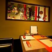 テーブル個室もございます。お好みのお部屋をご予約ください。