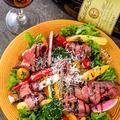 料理メニュー写真◆ローストビーフのサラダ仕立て