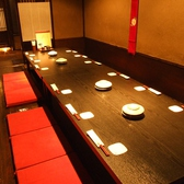 2名~最大40名までの大小完全個室をお選びください。