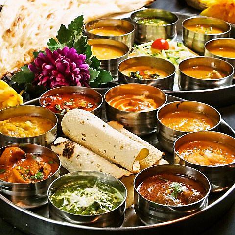 本場インドより取り寄せたスパイスを使用した本格カレー★異国風女子会やご飯使いに◎