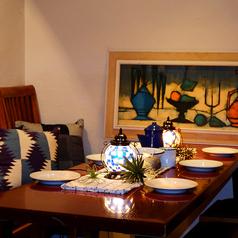 雰囲気抜群のテーブル席♪