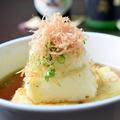 料理メニュー写真鶴の子豆腐の揚げ出し