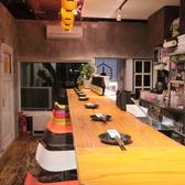 鉄板居酒屋 カヤモンジャ 栄店の雰囲気3