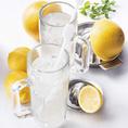 生搾りレモン/生搾りグレープフルーツ/チューハイレモン/チューハイライム