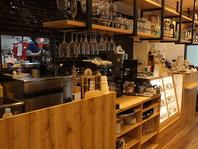 ◆ダイニングカフェならではのオシャレ感漂う店内◆