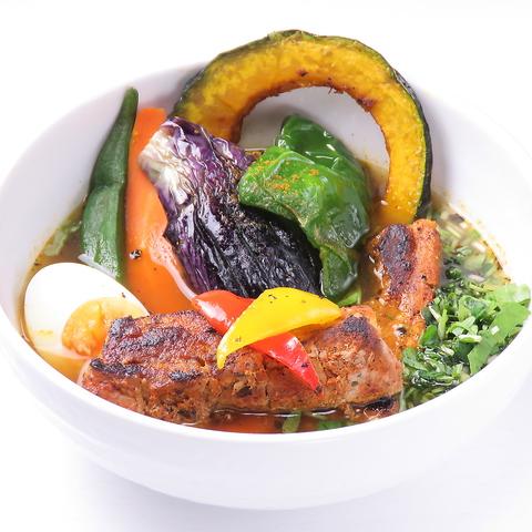 スカイツリーの近くで、野菜たっぷり本場札幌のスープカレーをお楽しみください♪