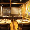 歓送迎会・各種宴会にぴったりな個室もご用意◎雰囲気の良い空間で、旬の食材を使用したコースに舌鼓♪