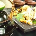 料理メニュー写真松茸の土瓶蒸し