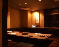 半個室。最大16名様まで御利用可能です