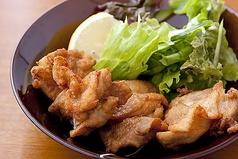 若鶏の唐揚げ/とん平焼き※各種の料金です