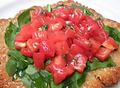 料理メニュー写真ローマ風カツレツ フレッシュトマトソース