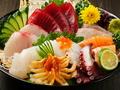 料理メニュー写真本日奥野の極上造り盛り合わせ