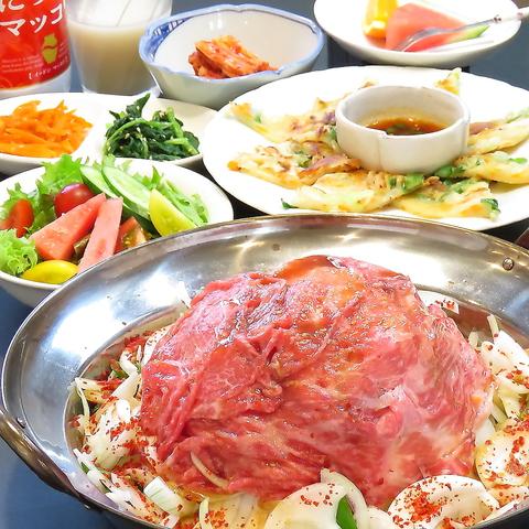 自然育ちの自家田園野菜を取り入れた手作りの日本料理と韓国家庭料理が堪能できます♪