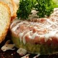 料理メニュー写真マグロとアボカドのタルタルパテ(バケット付き)